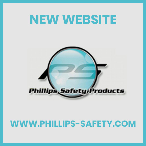 Blue Microfiber Cleaning Cloth with Phillips Safety logo, #ACC-PSCLOTH