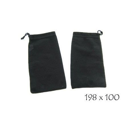 Microfiber Cleaning Pouch with Pull String #ACC-760D - Rx Safety