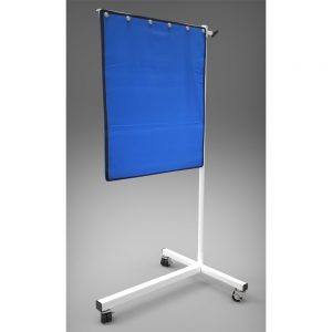 "Deluxe Mobile Lead Shield on T-Base 30"" x 24"""