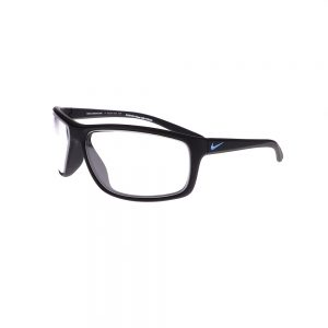 Radiation Glasses Nike Adrenaline P EV1114 010 in Matte Black Frame, Angled Side Left