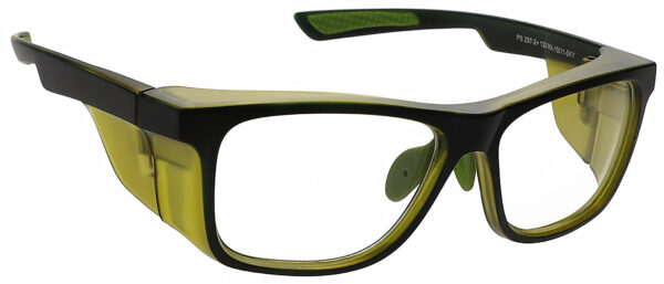 RG-15011 Safety Glasses in Black/Yellow