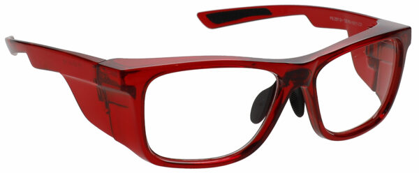RG-15011 Safety Glasses in Crystal Red
