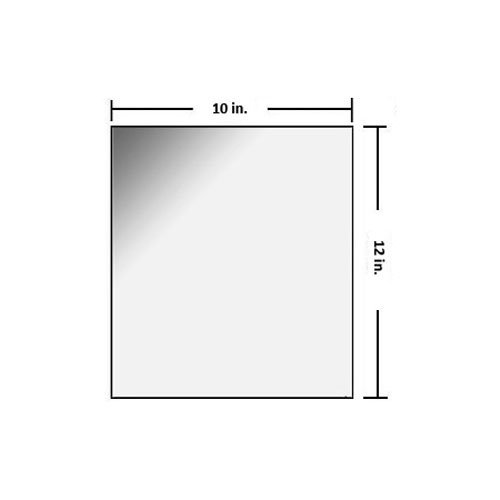 10 x 12 inch Radiation Shielding Glass