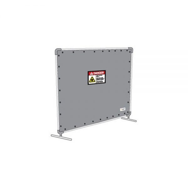 8 x 7ft Laser Safety Barrier