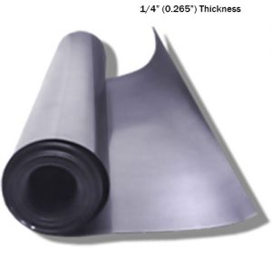 "Lead Sheeting 1/4"" Thickness"