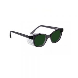 Quartz Working Shaded IR Lens Glass Working Safety Glasses, #QW-70F-IR