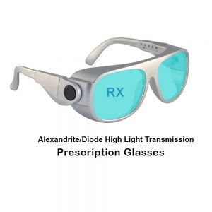 Alexandrite/Diode High Light Transmission Prescription Laser Safety Glasses