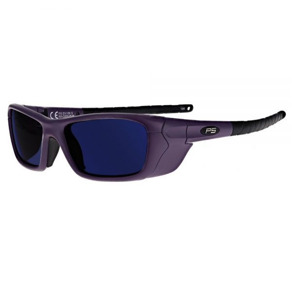 Glassworking Safety Glasses BoroTruView 3.0 Lenses in Model Q200 in Purple GB-BTV3-Q200-PUR