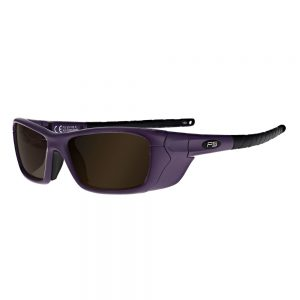 Glassworking Safety Glasses Boroview 3.0 Lenses in Model Q200 in Purple GB-G5-Q200-PUR