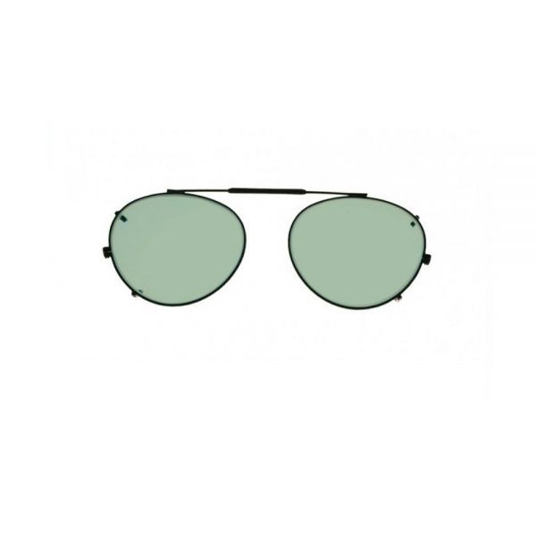Round Clip-On Glassworking Safety Glasses - Light Green, #GB-LG-RCO