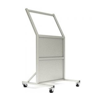 Tilted Mobile Leaded Barrier, LB-2430-B