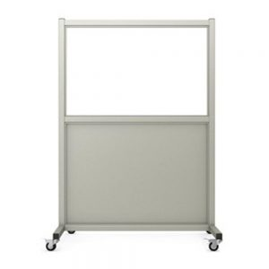 Mobile Leaded Barrier (Shorty), LB-2436-S
