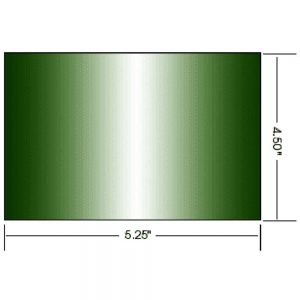 Custom Green Polycarbonate Welding Window Sheet