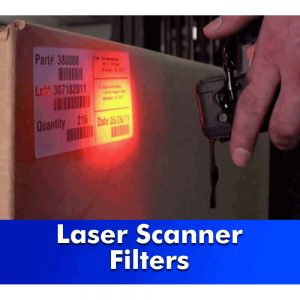 Laser Scanner Filter, Coated or Uncoated