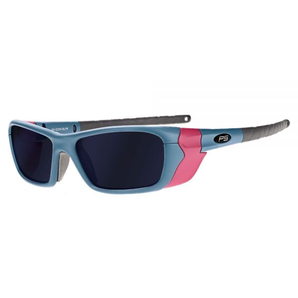 Glassworking Safety Glasses BoroTruView 5.0 Lenses in Model Q200 in Blue/Pink GB-BTV5-Q200-BLPK