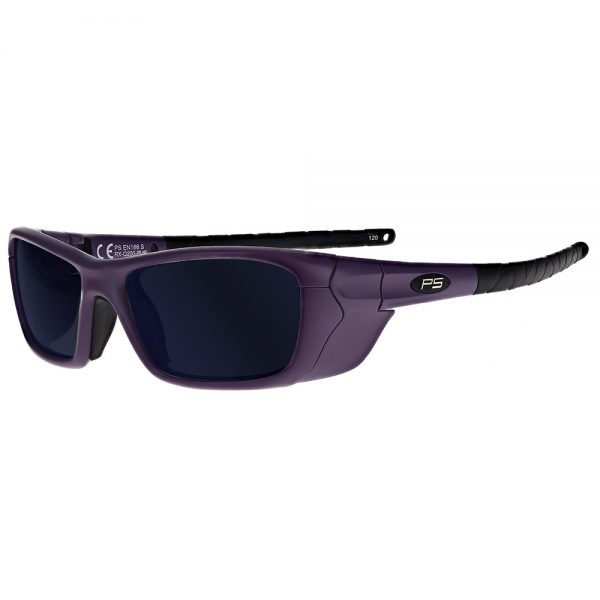 Glassworking Safety Glasses BoroTruView 5.0 Lenses in Model Q200 in Purple GB-BTV5-Q200-PUR