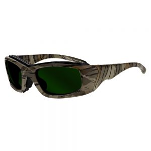 Glassworking Safety Glasses Boroview 3.0 Lenses in Model JY702 in Camo GB-G3-JY702-CA