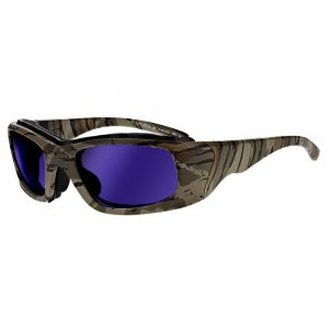 Glassworking Safety Glasses Sodium Flare Lenses in Model JY702 in Camouflage GB-SFP-JY702-CA