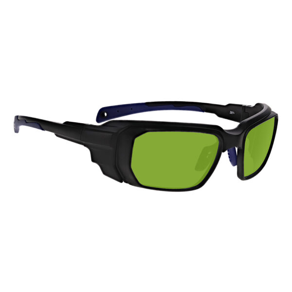 Model 16001 D1500 in Black and Blue Frame, Angled to the Side Right