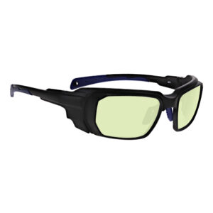 Model 16001 D81 Diode 810nm in Black and Blue Frame, Angled to the Side Right