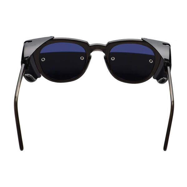 Glassworking Split Lens 70PC Safety Glasses, Angled to the rear.