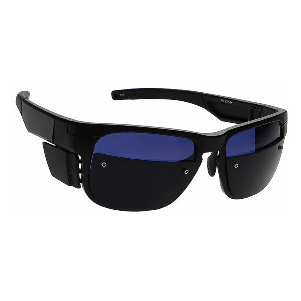 Glassworking Split Lens F126 Safety Glasses, Angled to the Side Right