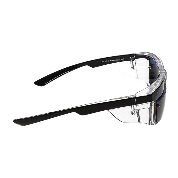 Glassworking Split Lens Model 15011 Safety Glasses, Angled to the Right