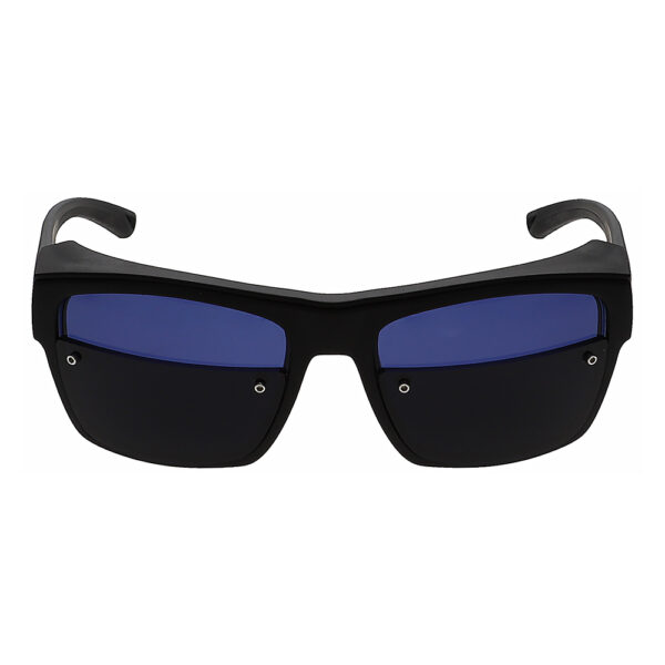 Glassworking Split Lens Model X25 Safety Glasses, Angled to the Front