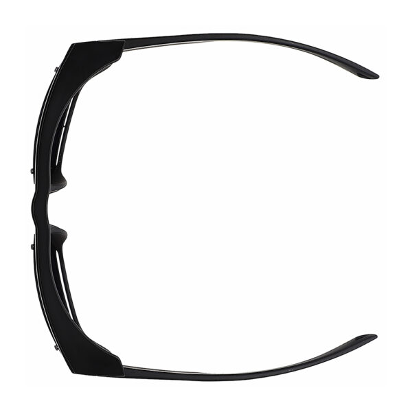 Glassworking Split Lens Model X25 Safety Glasses, Angled to the Top