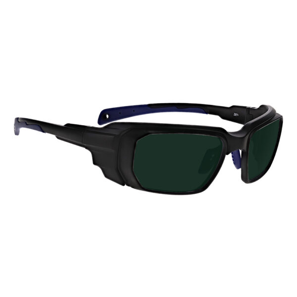 Model 16001 Intense Pulse Light (IPL) in Black and Blue Frame, Angled to the Side Right