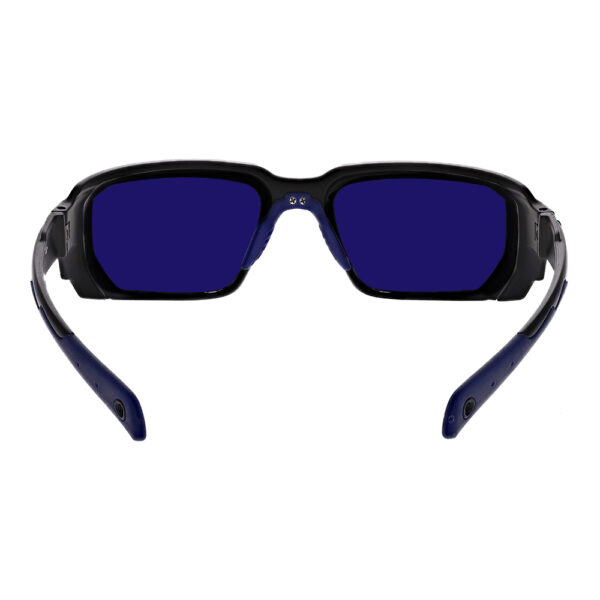 Model-16001 Dye SFP Filter with Black and Blue Frame Angled to the Rear