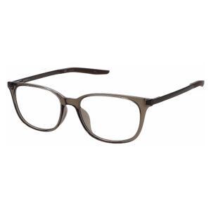 Nike 7283 Radiation Glasses 202 in Baroque Brown/Smokey Mauve, Angled Side Left