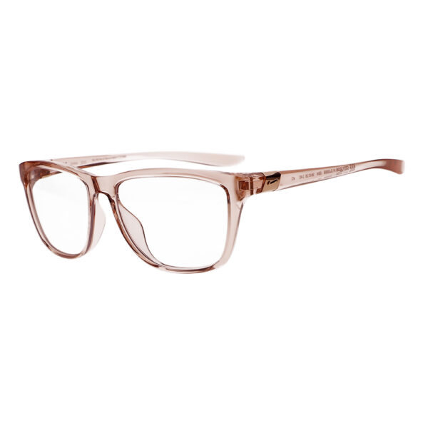 Nike City Icon M DJ0889 Radiation Glasses 664 in Washed Coral Frame, Angled to the Side Left