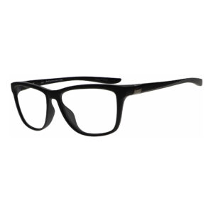 Nike City Icon DJ0890 Radiation Glasses 010 in Matte Black, Angled to the Side Left
