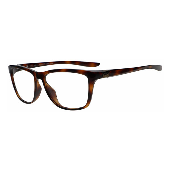 Nike City Icon P DM0081 Radiation Glasses 221 in Tortoise, Angled to the Side Left