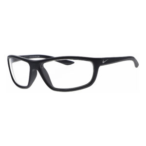 Nike Rabid M 451 Radiation Glasses in Matte Obsidian Frame, Angled to the Side Left