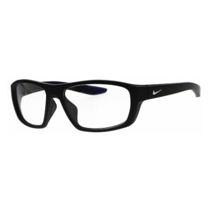 Nike Radiation Glasses CT8179 Brazen Boost 010 in Matte Black Frame, Angled to the Side Left