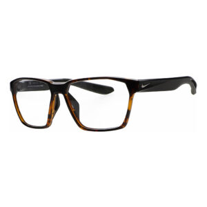 Nike Maverick S P Radiation Glasses DM0078-221 Soft Tortoise. Angled to the Side Left