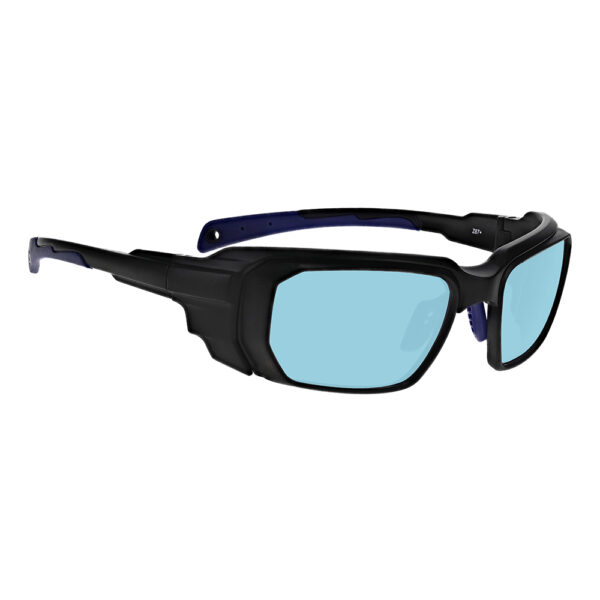 Model 16001 YAG, Alexandrite Diode, Holmium in Black and Blue Frame, Angled to the Side Right