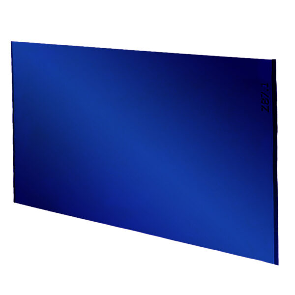 """Cobalt Lens Large, 4.5"""" x 5.25"""", Angled to the Side Left"""