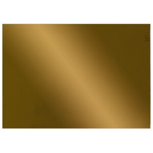 """Gold Welding Lens 4.5"""" x 5.25"""", Angled to the Front"""
