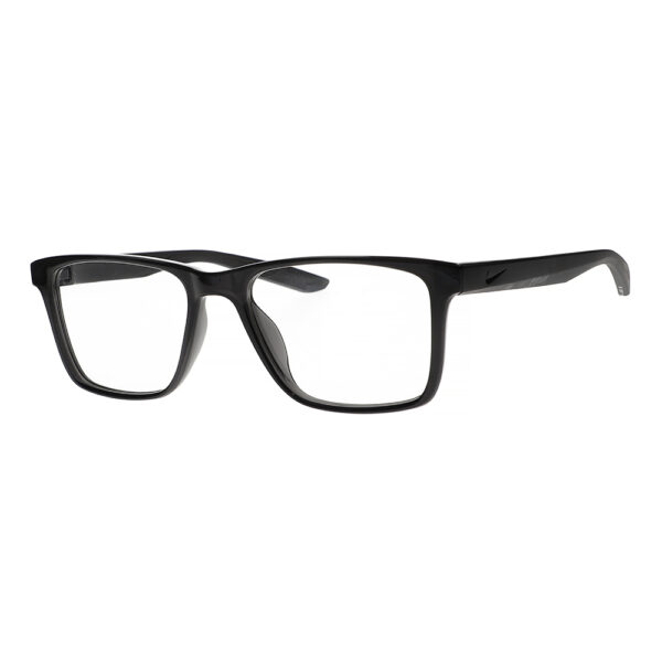 Nike Radiation Glasses 7300 in Black, Angled to the Side Left