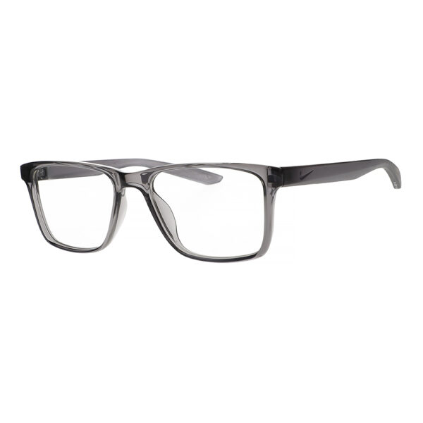 Nike Radiation Glasses 7300 in Dark Grey, Angled to the Side Left