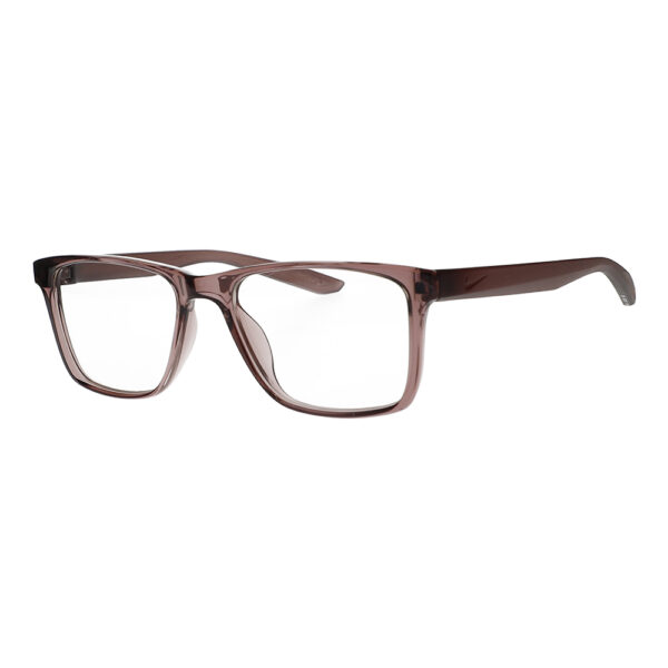 Nike Radiation Glasses 7300 in Smokey Mauve, Angled to the Side Left