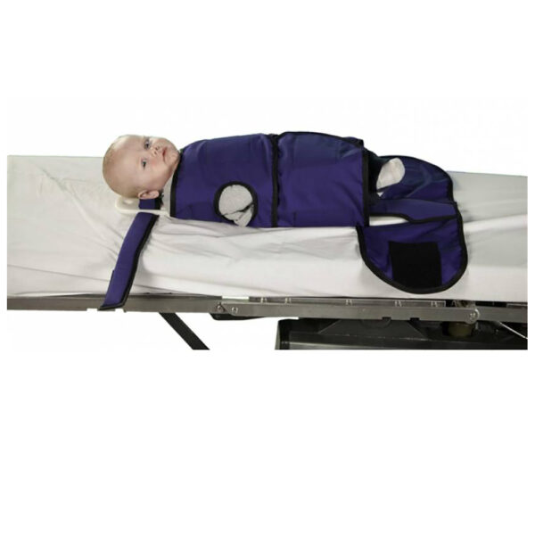Small Radiolucent Papoose Board that is MRI Safe