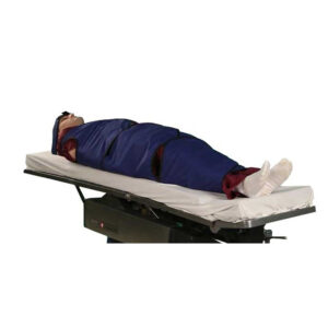 XL Radiolucent Papoose Board that is MRI Safe with Patient on Board